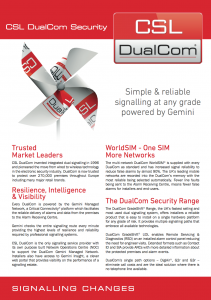 CSL DualCom Security from Broadsword